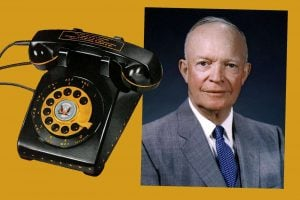 Eisenhower and dial telephone history