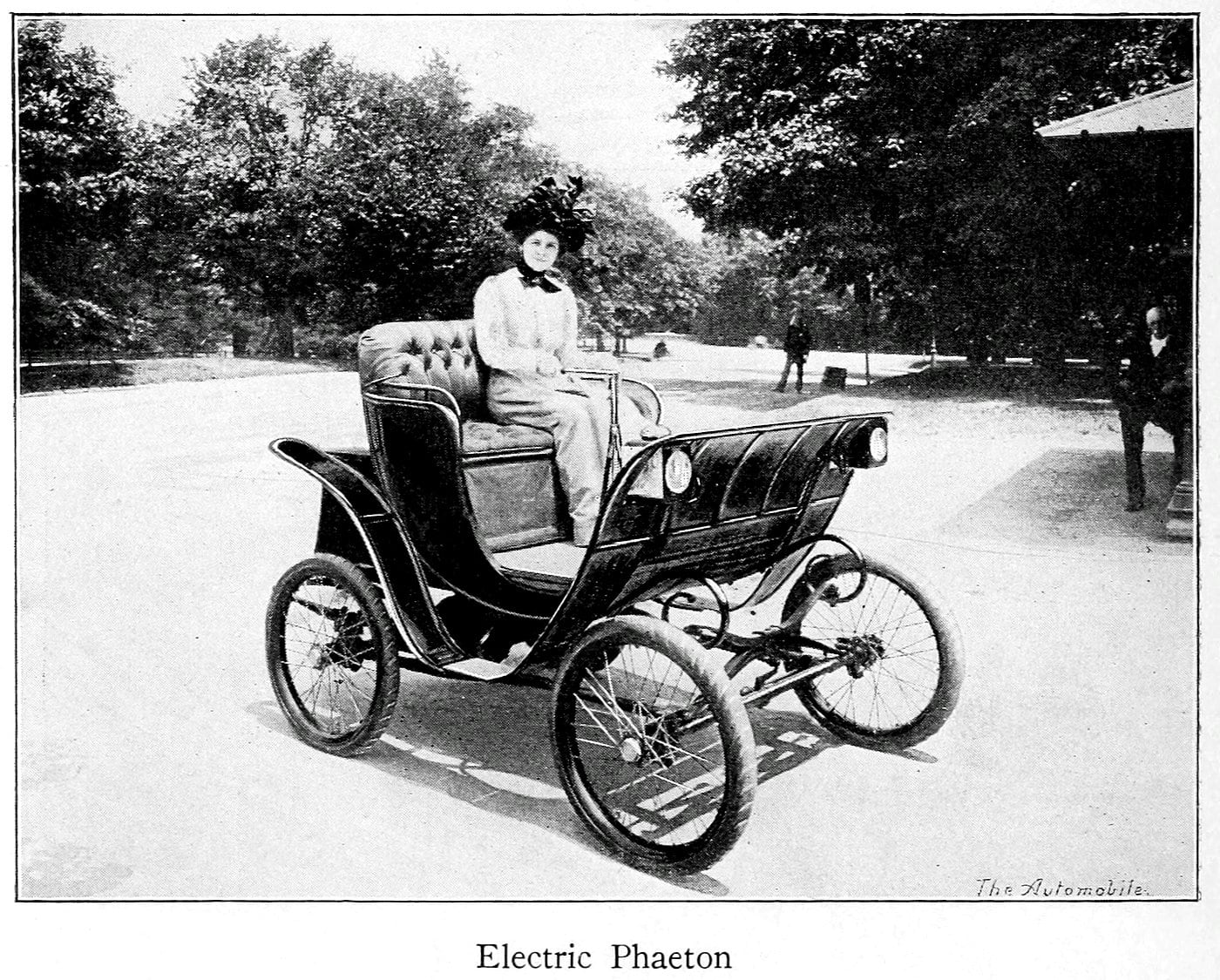 Electric Phaeton vintage automobile from 1899