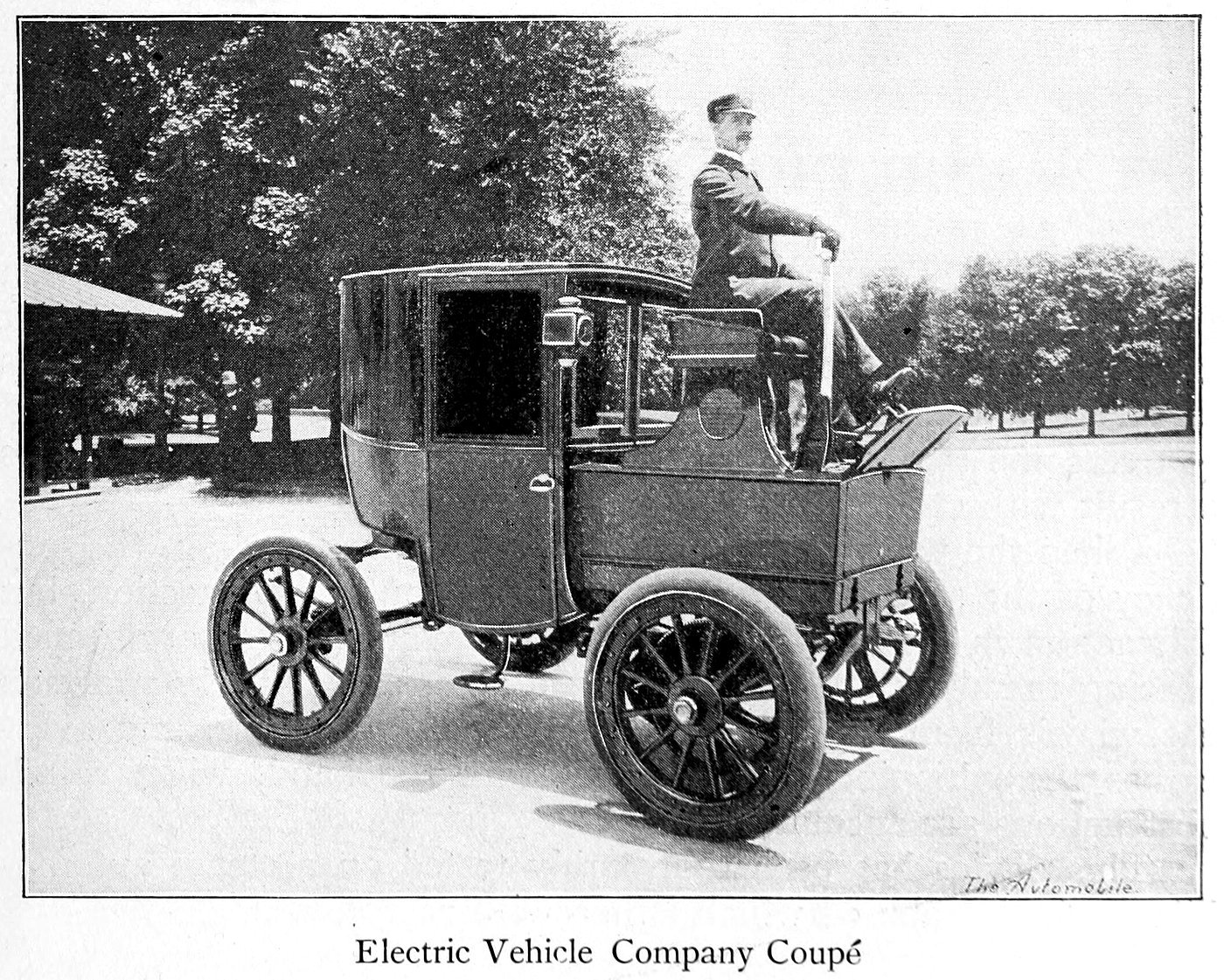 Electric vehicle company Coupe (1899)