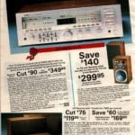 Stereo receivers with electronic quarts tuning, and 3-way speakers for home stereo systems