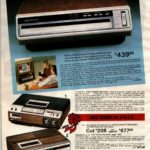 Home entertainment: New video disc players - plus video cassette recorders (VCRs)