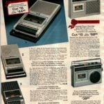 Cassette tape players and recorders - some with radio and VHF TV audio channels