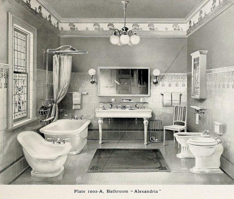 Elegant antique bathrooms 1900s (3)