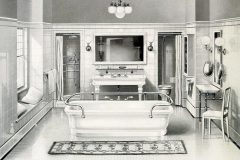 Elegant antique bathrooms from the 1900s Sinks, tubs and decor