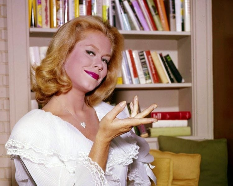 Elizabeth Montgomery as Samantha Stevens on Bewitched