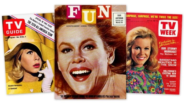 Elizabeth Montgomery magazine covers