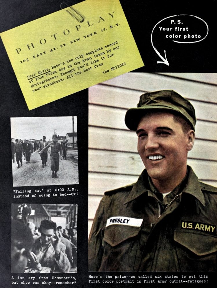 Elvis Presley in the Army - 1958 to 1960 (3)