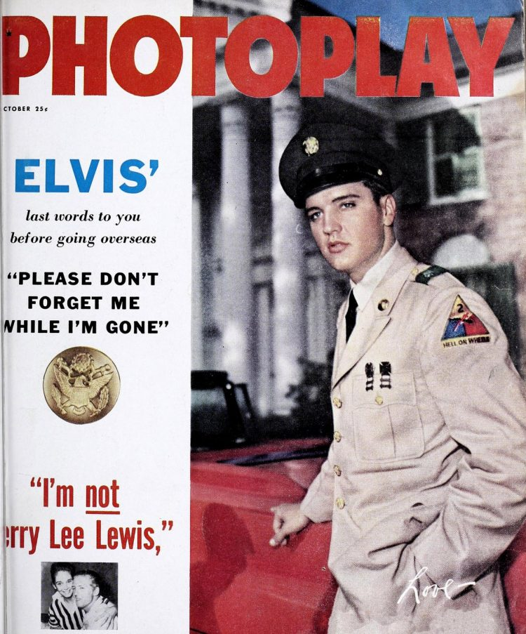 Elvis Presley in the Army - 1958 to 1960 (5)