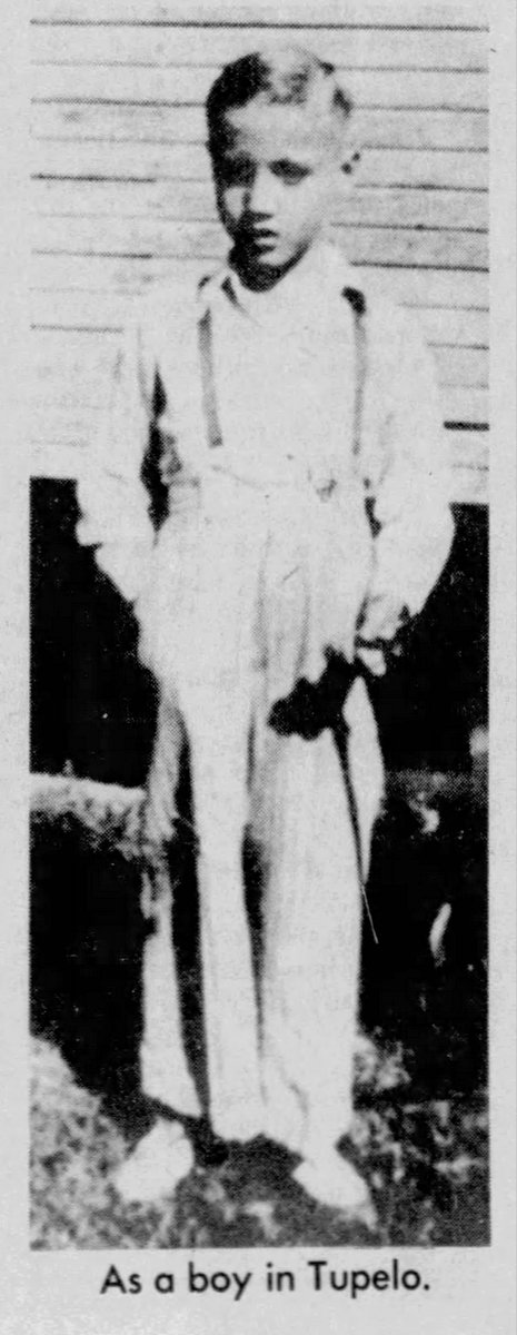 Elvis as a boy - Age 5 or 6 in Tupelo