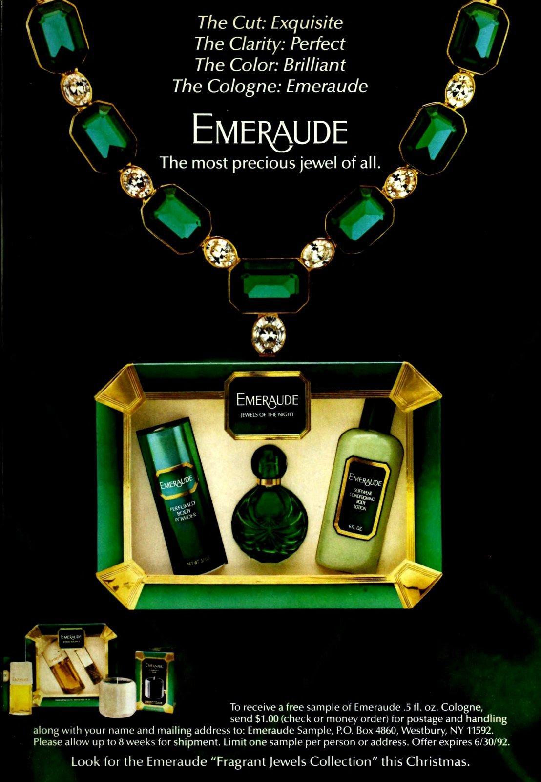 Emeraude cologne (1991) at ClickAmericana.com