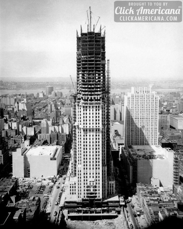 Empire State Building construction