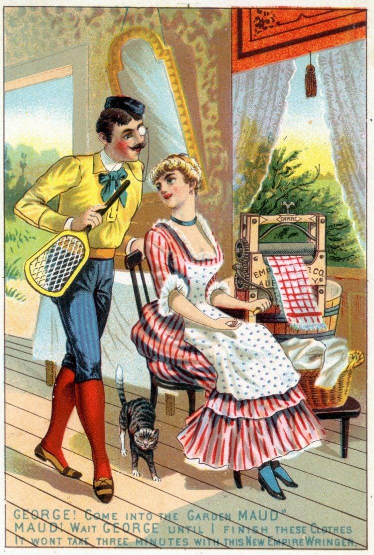 Empire Wringer for laundry - 1800s