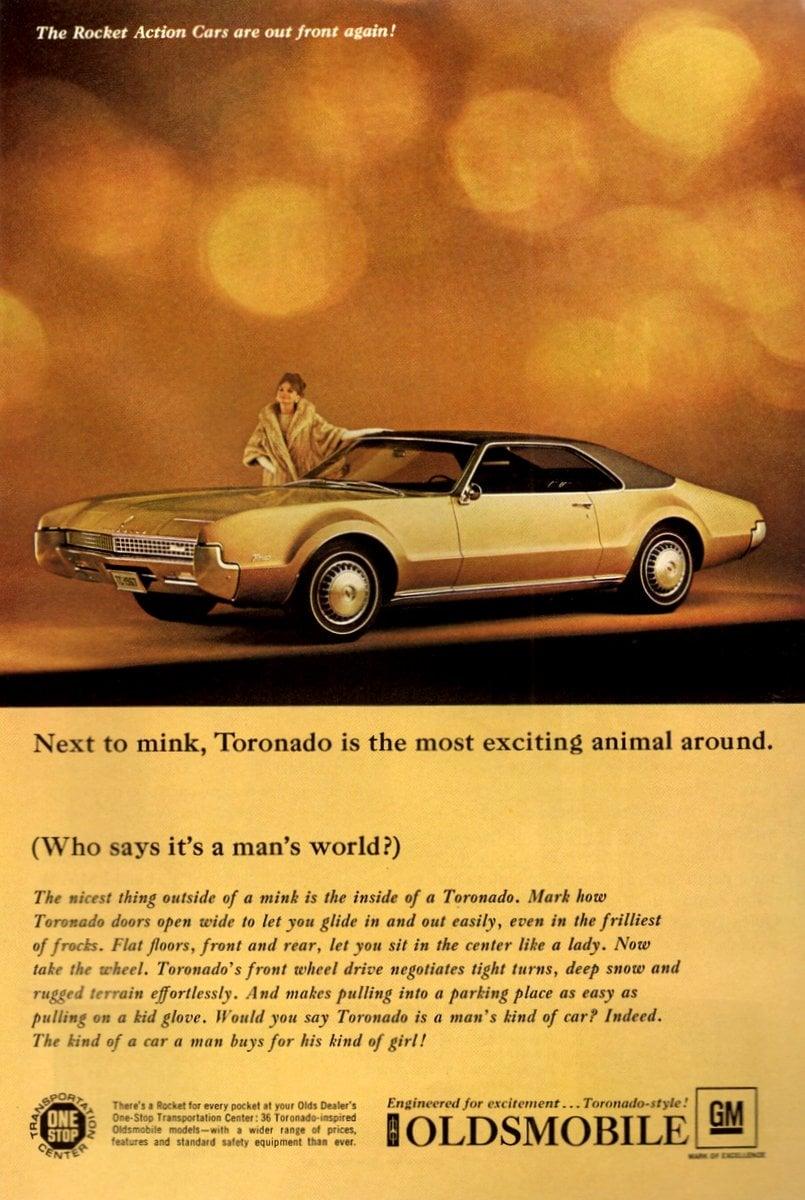Engineered for excitement... Toronado-style! (1967)