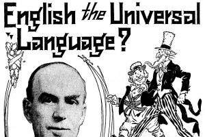 English the universal language (From 1922)