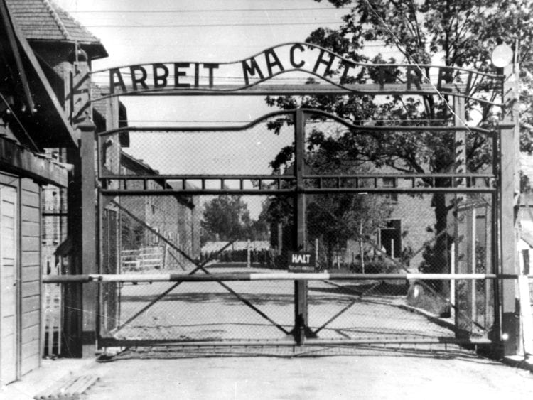 Nazi concentration camp Auschwitz I in Poland