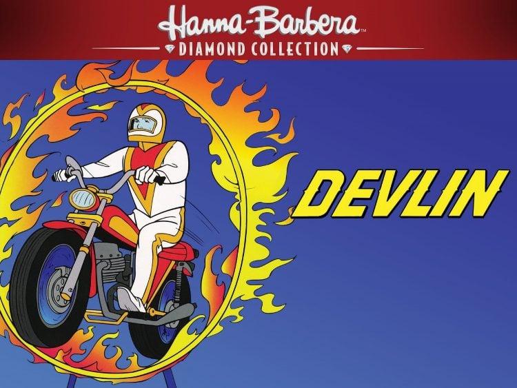 Ernie Devlin - Hanna Barbara vintage cartoon