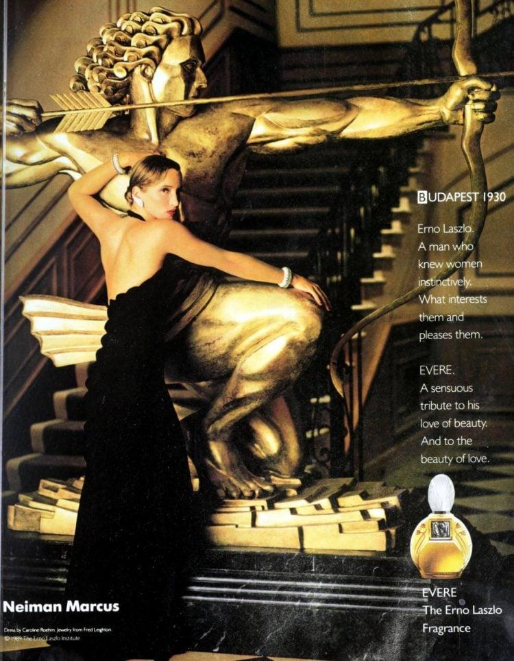 Erno Laszlo fragrance Evere 1980s 1989