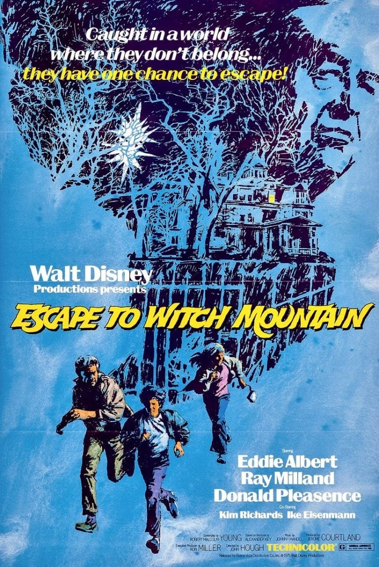 Escape to Witch Mountain movie poster 1975