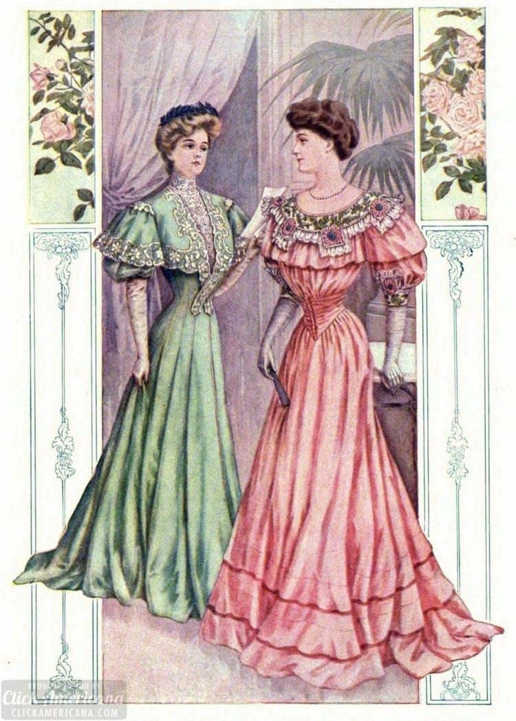 Evening dress 1905