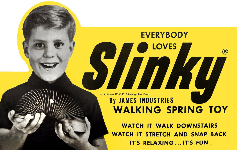 Everybody loves Slinky - Vintage toys