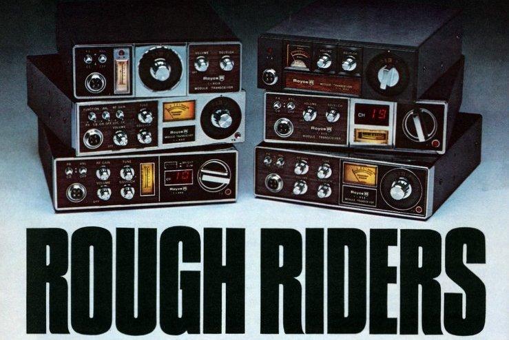Everybodys talking bout Royce CB radios (1976)