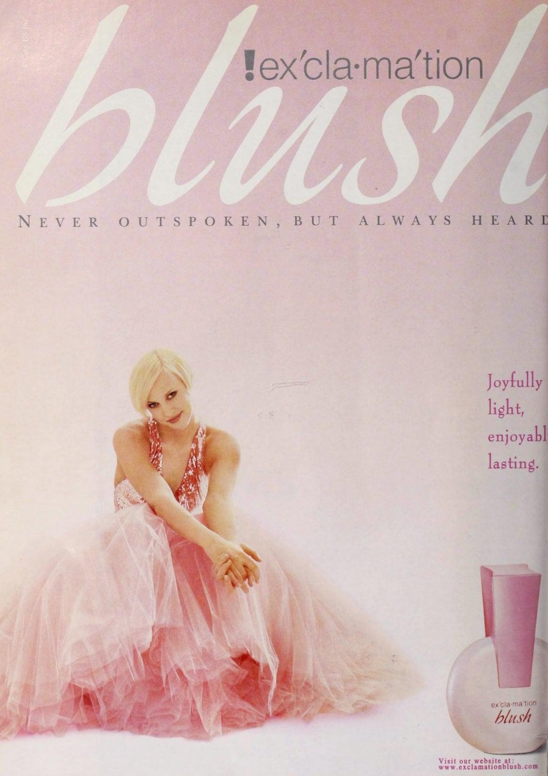 Exclamation Blush perfume (1998) at ClickAmericana.com