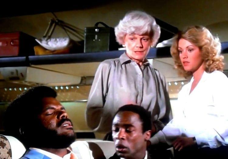 Barbara Billingsley - Excuse me - I speak jive - Airplane movie