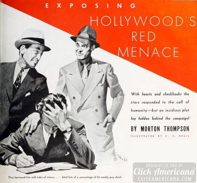 Exposing Hollywood's Red Menace - Communism - 1940