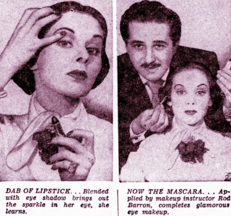 Eye makeup makeover tips from 1950 (1)