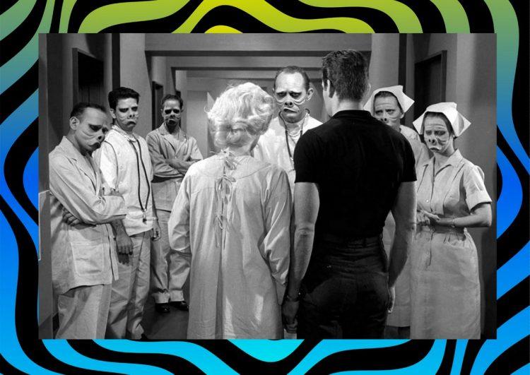 Eye of the Beholder original Twilight Zone episode - Pig faces 1960