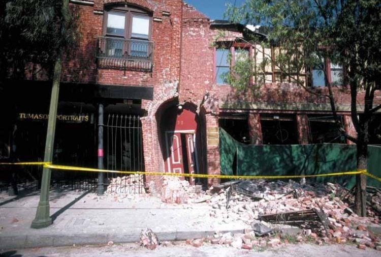Failure of Unreinforced Brick J.K. Nakata, U.S. Geological Survey
