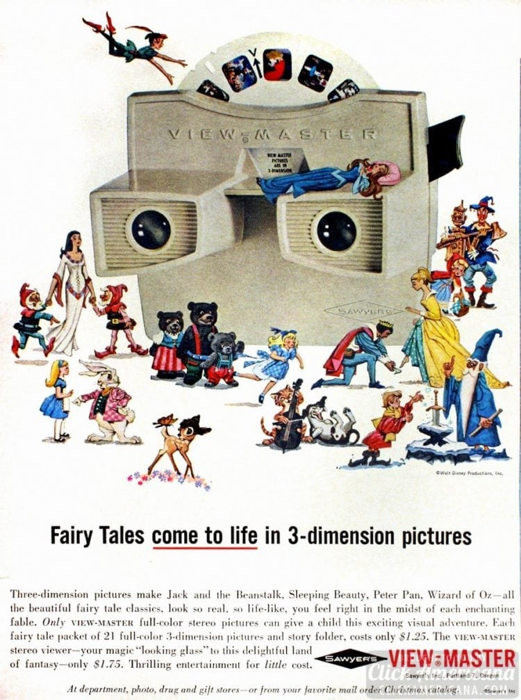 Fairy Tales come to live in 3-dimension pictures (c1960s)