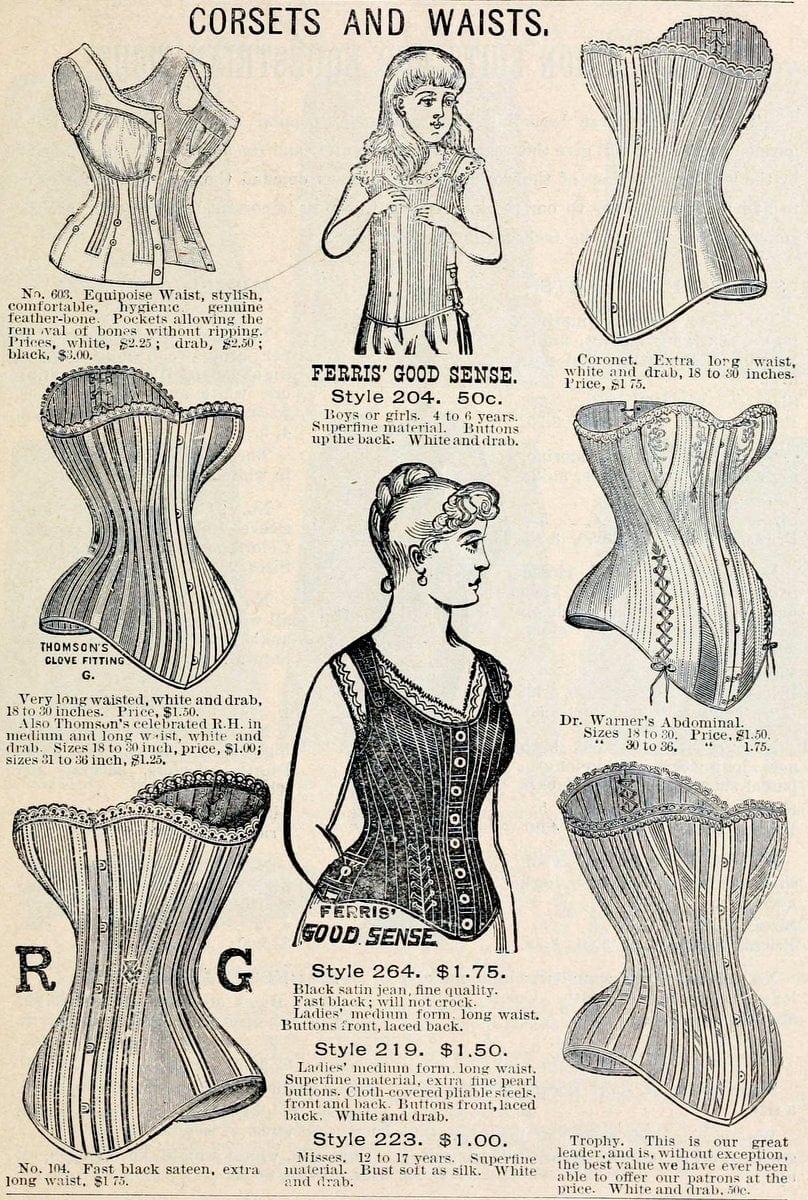 Fall and Winter 93-94 Jordan, Marsh and Company corsets 1