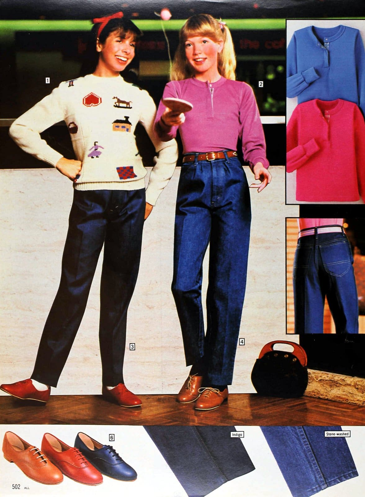 Fall styles for tweens and teens for 1982