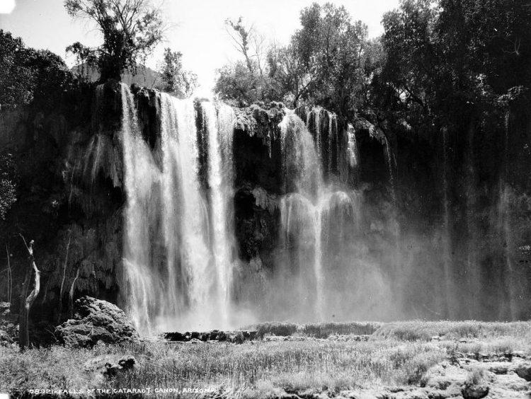 Falls of the Cataract Canon, Arizona 1890