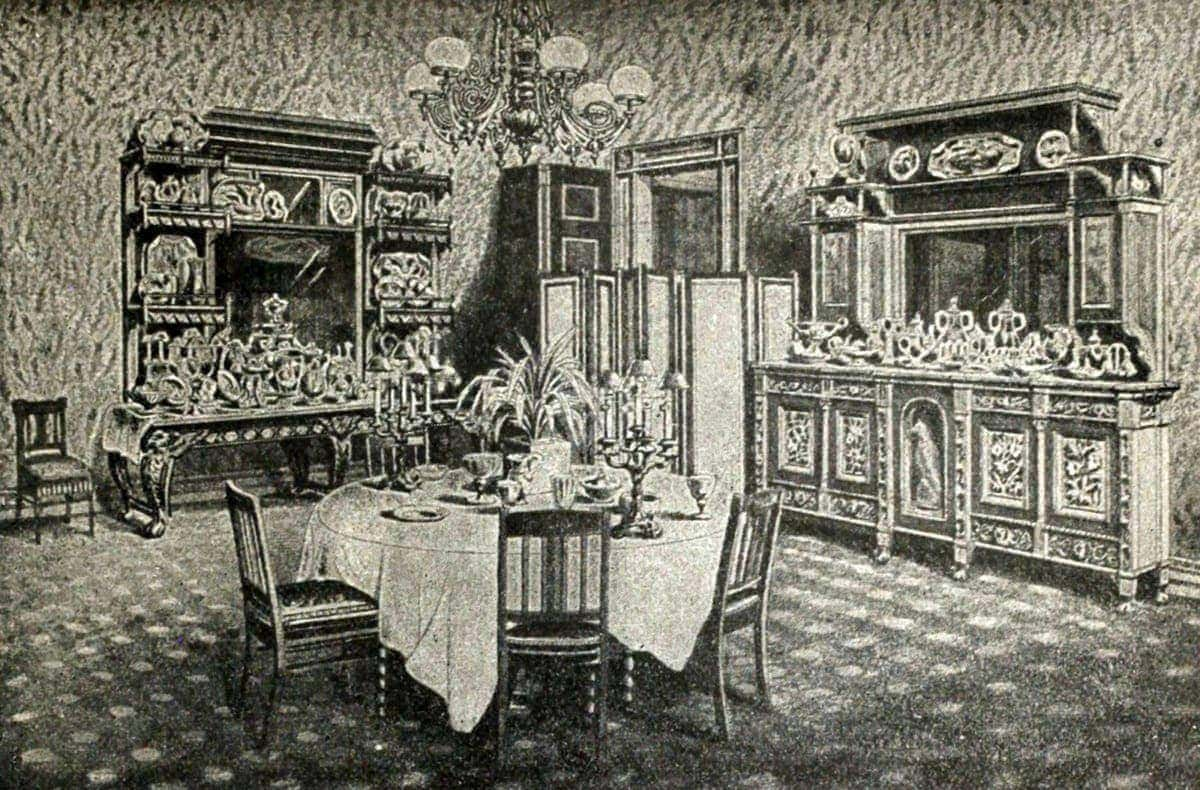 Recipe For Dinner On New Years Day 1891