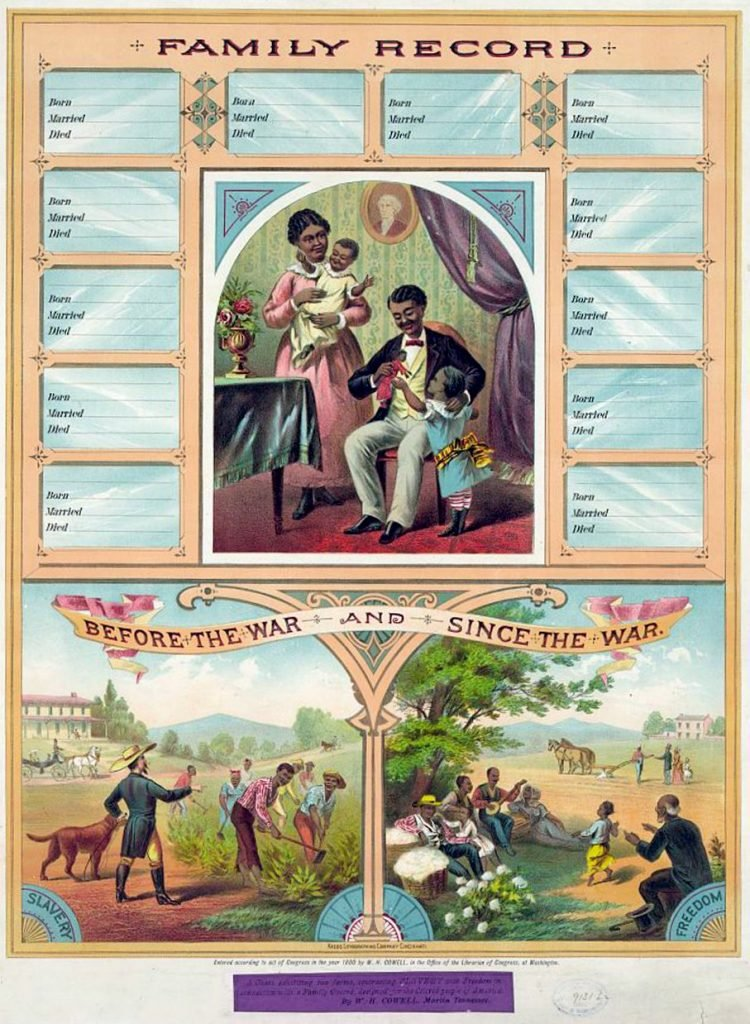 Family record. Before the War and Since the War 1880