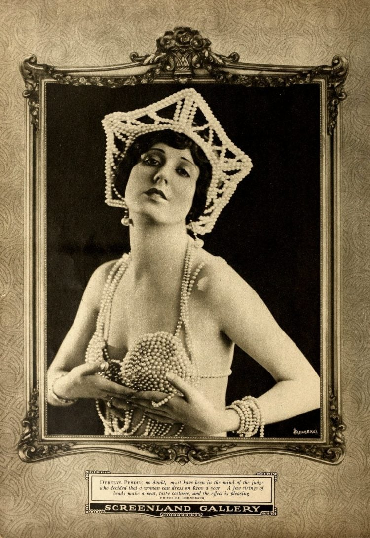 Famous silent movie actresses - Plastic surgery in the 1920s