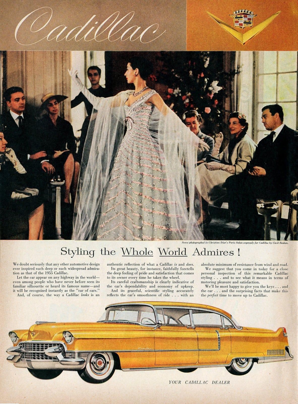 Fancy 1955 Cadillac car
