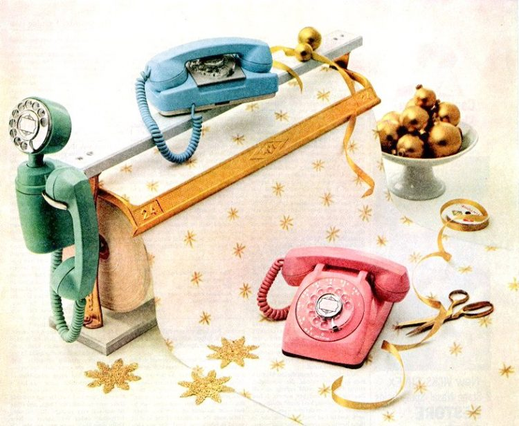 Fancy old dial telephones - Vintage tech