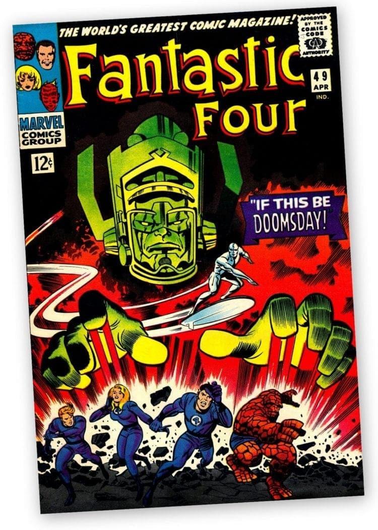 Fantastic Four comic book - No 49 - 1966