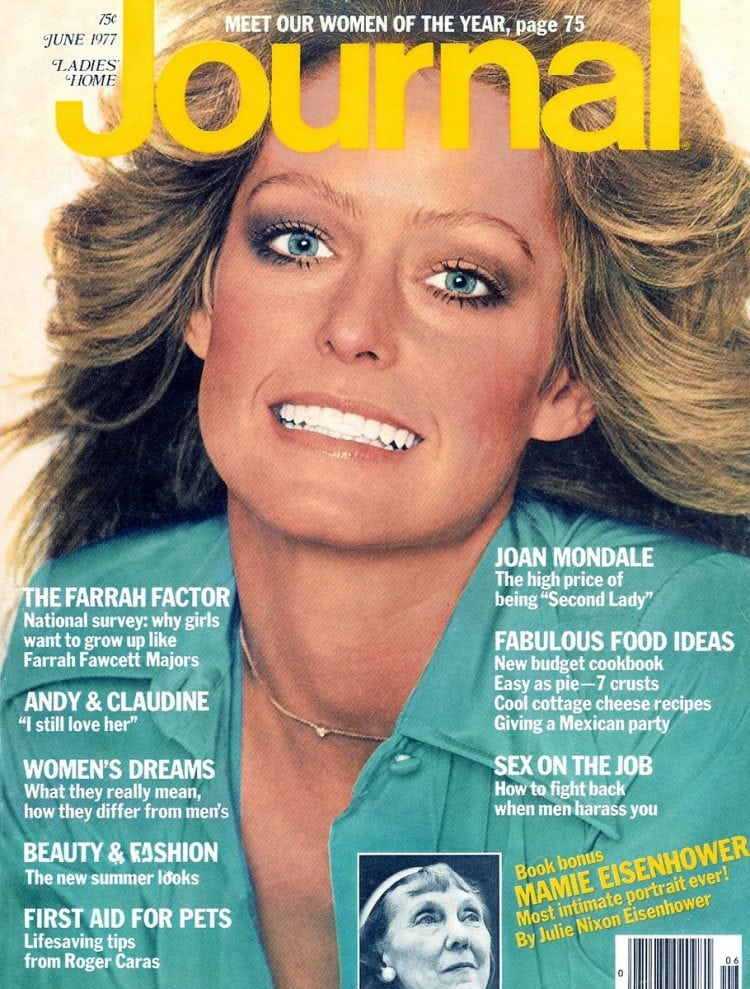 How To Get Farrah Fawcett S Famous Long Feathered Hairstyle From The 70s Click Americana