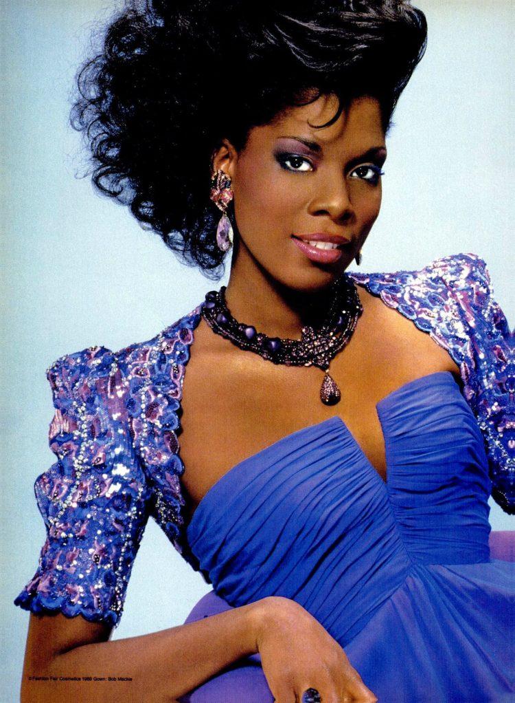 Fashion Fair Color Seduction nail polish - makeup (1989)