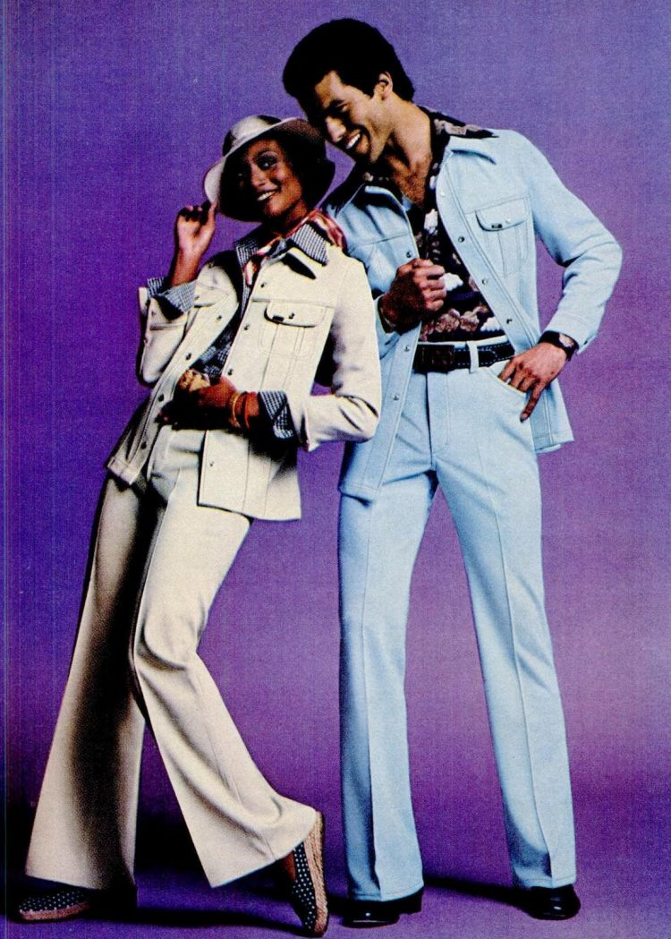 Fashion for men and woman from 1975
