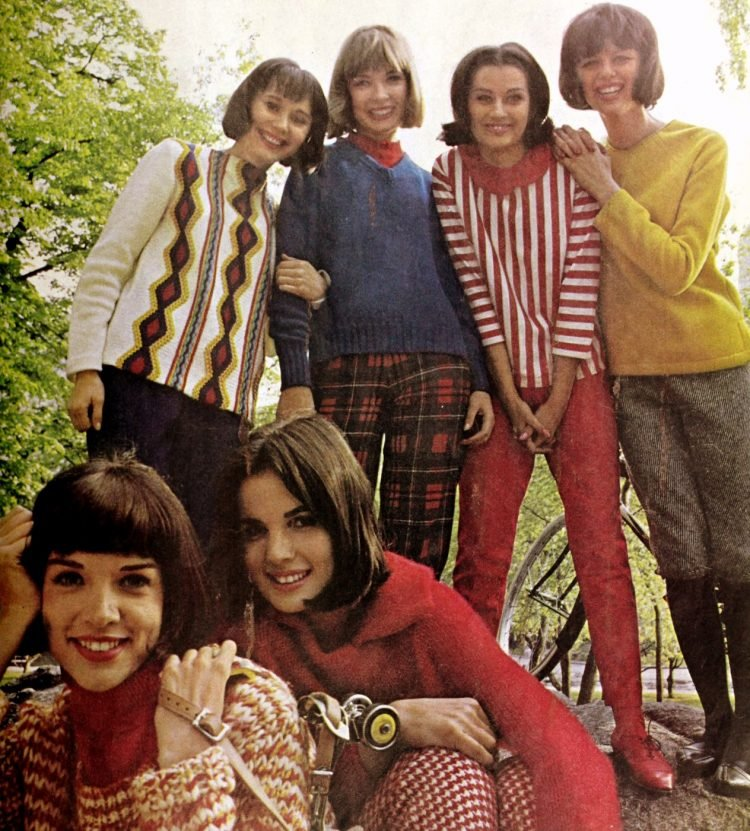 Fashion for teen girls in 1964 (2)