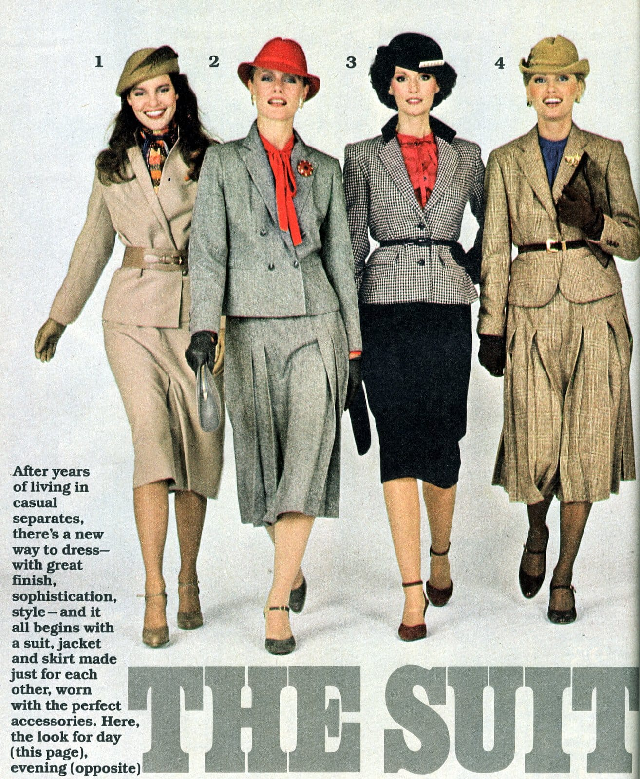 Fashion for women The suit is back - 1979 (1)