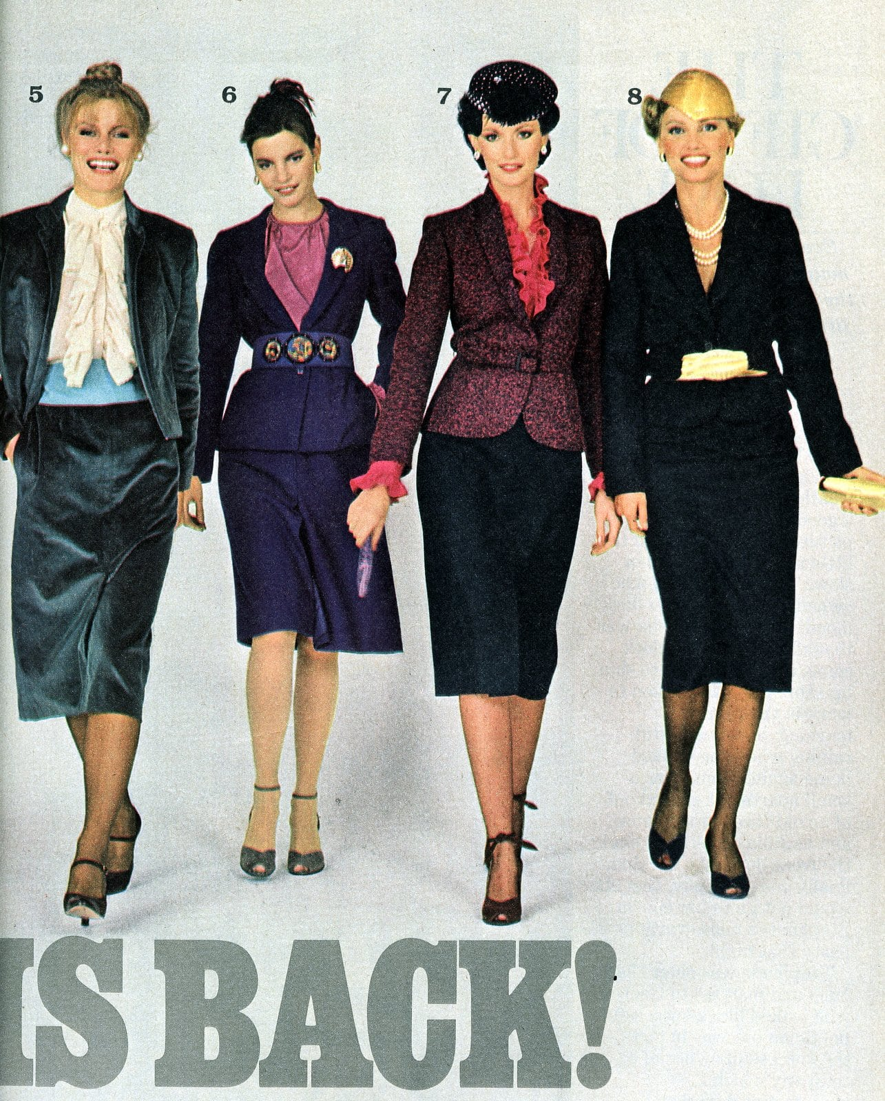 Fashion for women The suit is back - 1979 (2)