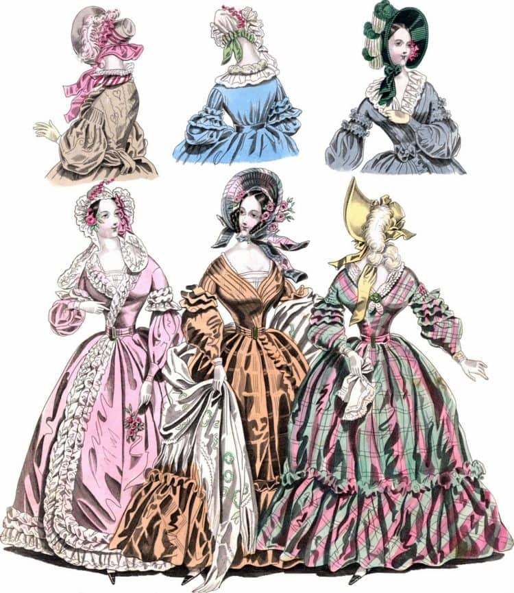 Fashion from 1838