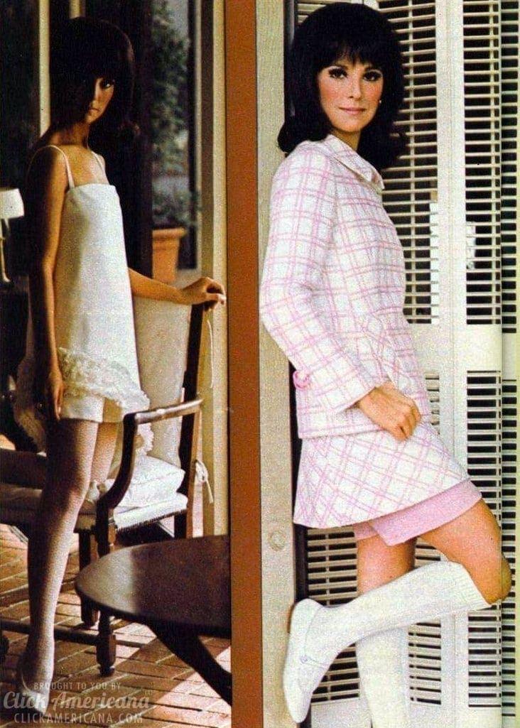 Fashion photos Marlo Thomas 1960s