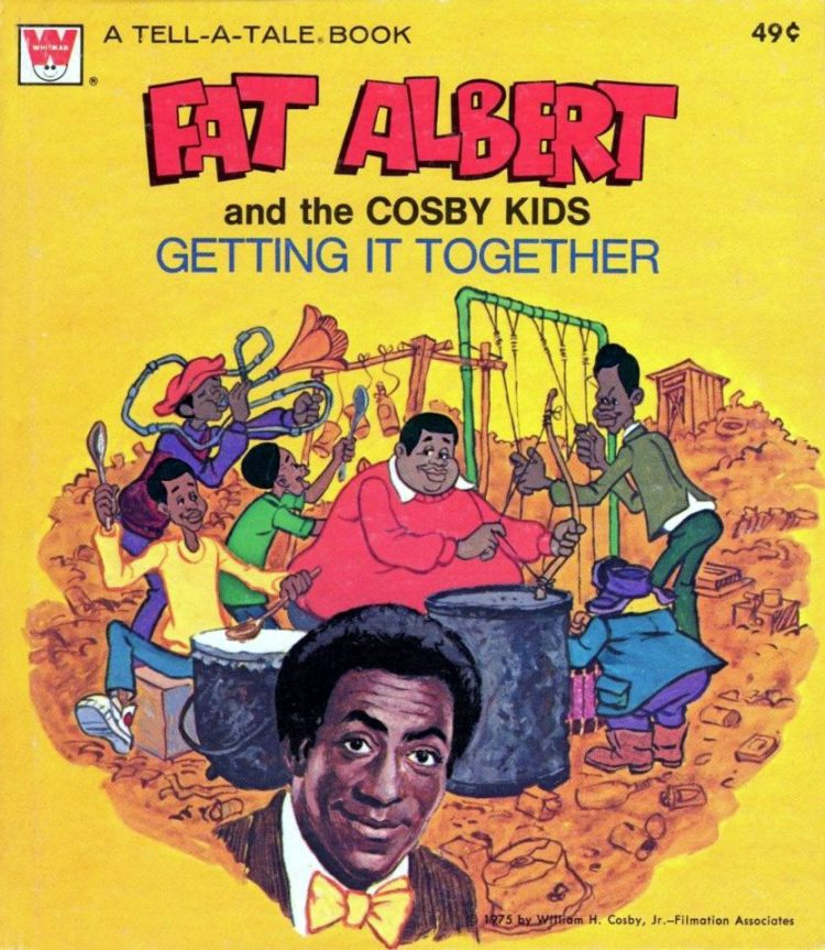 Fat Albert and the Cosby Kids book